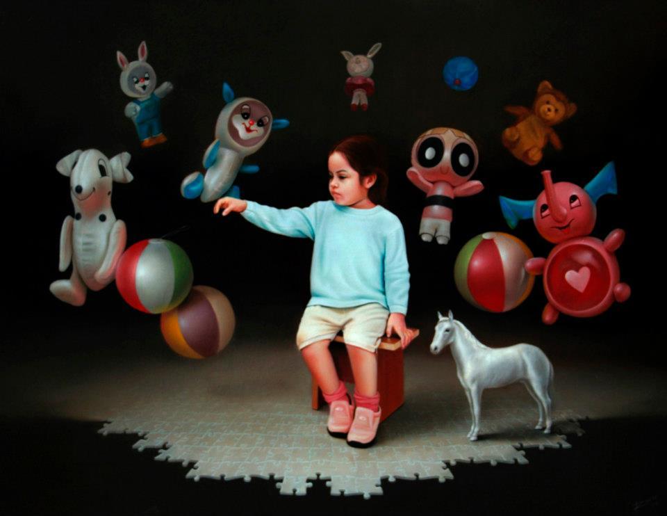 Obra de Renso Castaneda